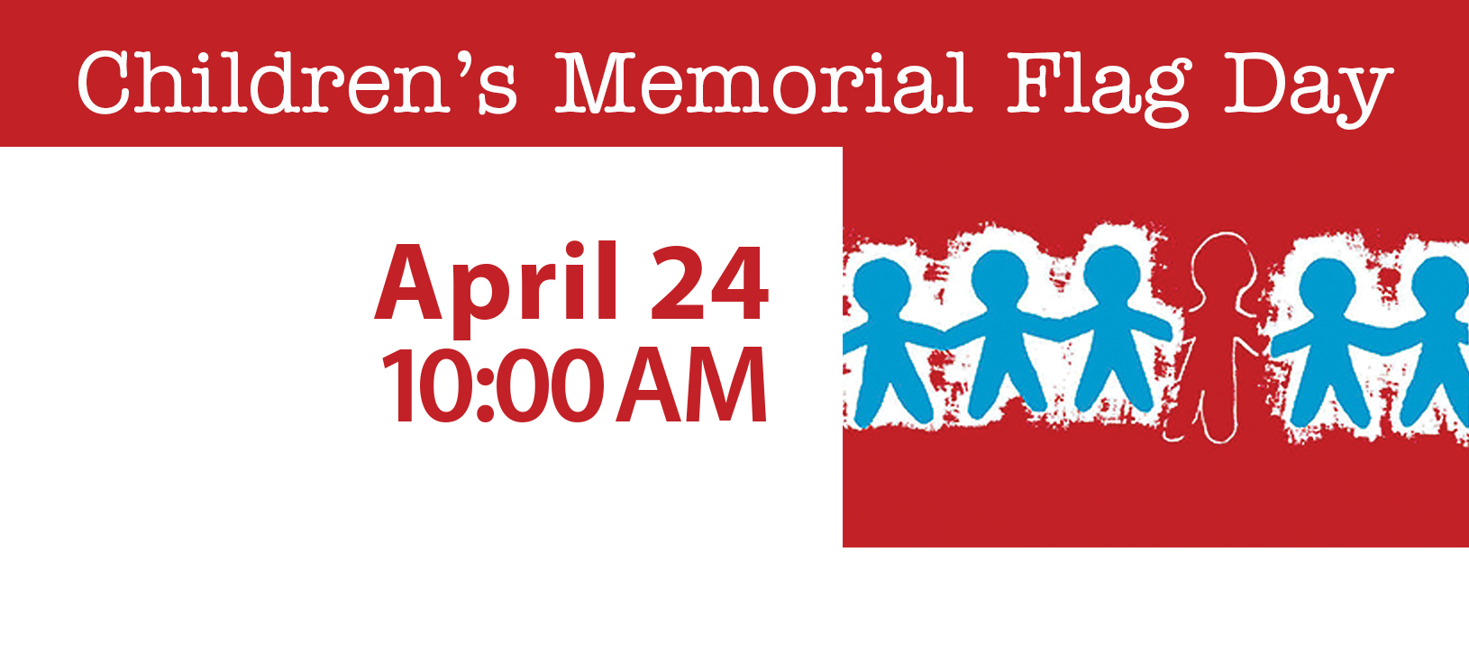 Facebook Profile Banner - Children's Memorial Flag Day 2020